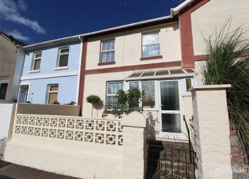 3 bed terraced house for sale in Vansittart Road, Torquay TQ2