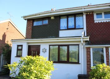 Thumbnail 3 bed semi-detached house for sale in Keyworth Walk, Stoke-On-Trent, Staffordshire
