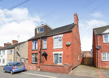 Thumbnail 3 bed semi-detached house for sale in Chapel Street, Church Gresley, Swadlincote, Derbyshire