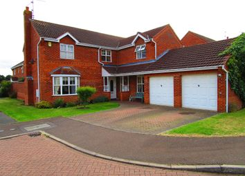 Thumbnail 4 bedroom detached house for sale in Barkston Drive, Dogsthorpe, Peterborough