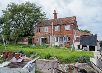Thumbnail 3 bed detached house for sale in Fen Road, Toynton St. Peter, Spilsby