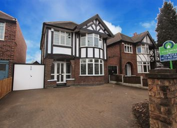 Thumbnail 3 bed detached house for sale in Wollaton Road, Wollaton, Nottingham