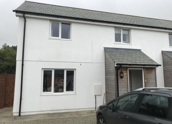 Thumbnail 3 bed semi-detached house for sale in Kerkin Close, Goonhavern, Truro