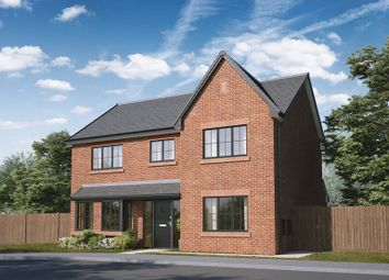 Thumbnail 4 bed detached house for sale in Hurworth Gardens, Roundhill Road, Hurworth