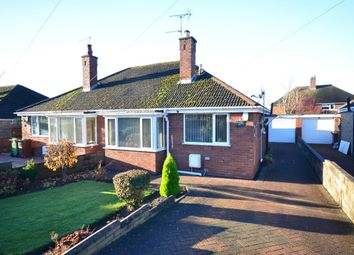 Thumbnail 2 bed semi-detached bungalow for sale in Bernard Grove, Meir Heath