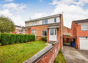 Thumbnail 3 bed semi-detached house for sale in Herriot Drive, Chesterfield