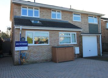 Thumbnail 3 bedroom semi-detached house for sale in Wemberham Crescent, Yatton, Bristol