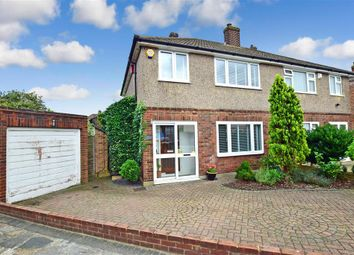 Thumbnail 3 bed semi-detached house for sale in Rokesby Close, Welling, Kent