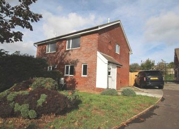 Thumbnail 2 bed semi-detached house for sale in Hazeldene Avenue, Brackla, Bridgend