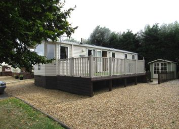 Thumbnail 3 bedroom mobile/park home for sale in Staffurths Bridge, March
