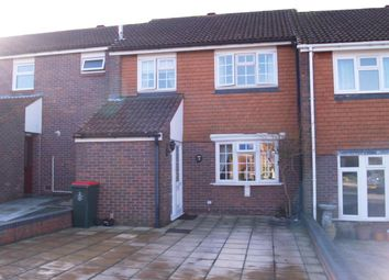 Thumbnail 3 bed terraced house to rent in Ambleside Close, Ifield, Crawley