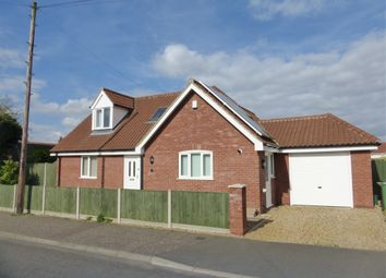 Thumbnail 3 bed bungalow for sale in Bramble Avenue, Hellesdon, Norwich