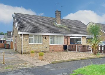 Thumbnail 3 bed semi-detached bungalow for sale in Summergangs Drive, Thorngumbald, Hull