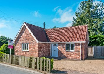 Thumbnail 2 bed detached bungalow for sale in Hepworth Road, Barningham, Bury St. Edmunds