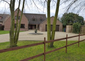 Thumbnail 5 bedroom detached house for sale in The Leam, Friday Bridge, Wisbech