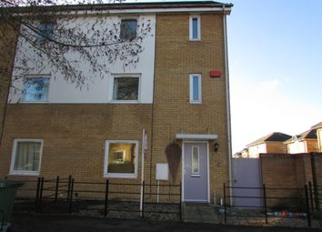 Thumbnail 4 bed end terrace house to rent in Silver Hill, Hampton Centre