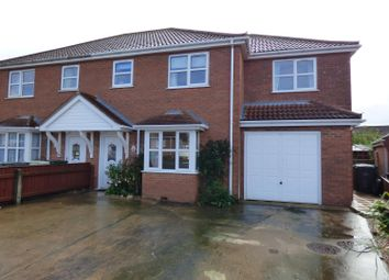 Thumbnail 5 bed semi-detached house for sale in Jacklin Drive, Saltfleet, Louth