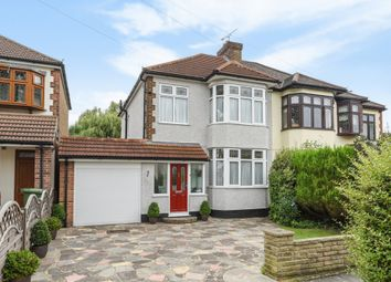 Thumbnail 3 bed semi-detached house for sale in Beltinge Road, Harold Wood