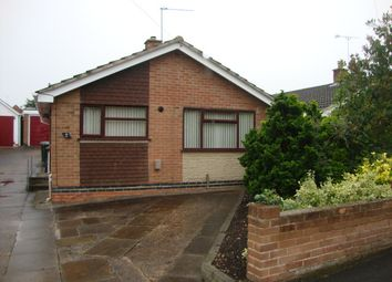 Thumbnail 2 bedroom bungalow for sale in Twyford Close, Swadlincote