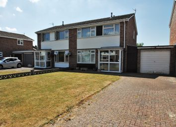 Thumbnail 3 bed semi-detached house for sale in Stoneleigh Close, Burnham-On-Sea