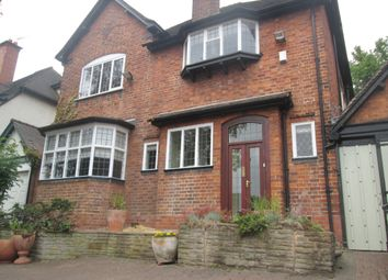 Thumbnail 5 bed detached house to rent in Bristol Road, Edgbaston, Birmingham