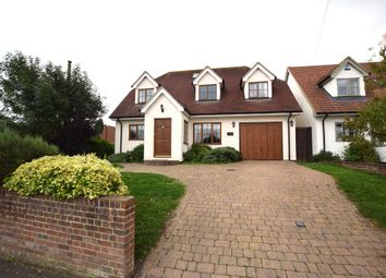 Thumbnail 4 bed detached house for sale in The Street, Roxwell, Chelmsford