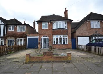 Thumbnail 5 bed detached house for sale in Romway Road, Evington, Leicester