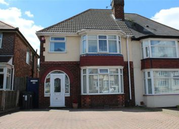 Thumbnail 3 bed semi-detached house for sale in Flaxley Road, Birmingham