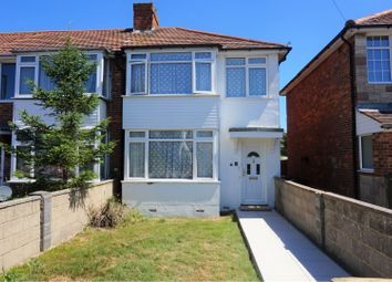 Thumbnail 3 bed end terrace house for sale in Wilton Avenue, Eastbourne