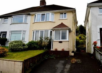 Thumbnail 3 bed semi-detached house for sale in New Road, Swansea