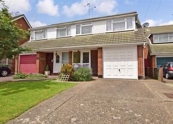 Thumbnail 4 bed semi-detached house for sale in Highcliffe Close, Wickford, Essex