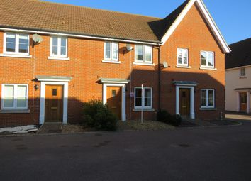 Thumbnail 3 bed terraced house to rent in Harebell Road, Red Lodge, Bury St. Edmunds