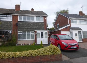Thumbnail 3 bedroom semi-detached house to rent in Canning Road, Walsall