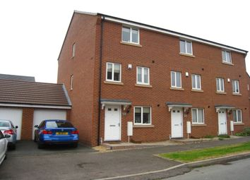 Thumbnail 4 bed terraced house for sale in Anglian Way, New Stoke Village, Coventry
