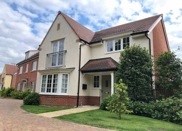Thumbnail 4 bed detached house for sale in Field Gate Close, St. Neots