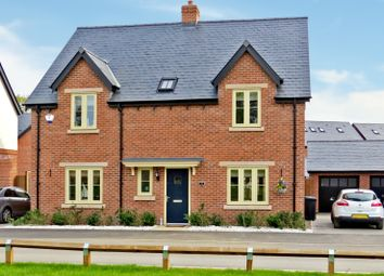 Thumbnail 4 bed detached house for sale in Arkwright Avenue, Coton House Estate, Rugby