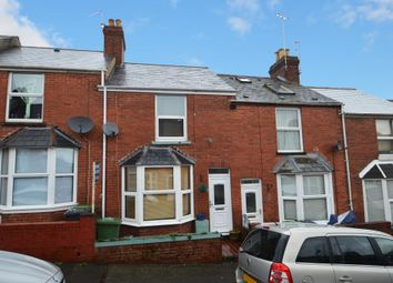 Thumbnail 2 bed terraced house for sale in Coleridge Road, St. Thomas, Exeter