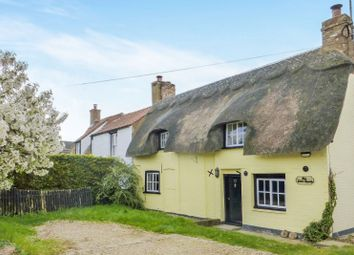 Thumbnail 2 bedroom cottage for sale in The Little Thatch, Newgate Street, Doddington, March, Cambridgeshire
