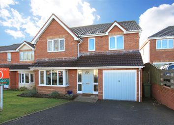 Thumbnail 4 bed detached house for sale in Giles Close, Admaston, Telford