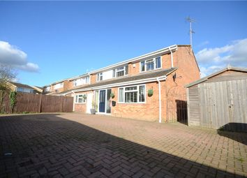 Thumbnail 5 bedroom semi-detached house for sale in Melford Green, Caversham, Reading