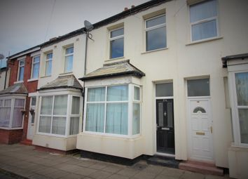 3 bed terraced house to rent in Woolman Road, Blackpool, Lancashire FY1