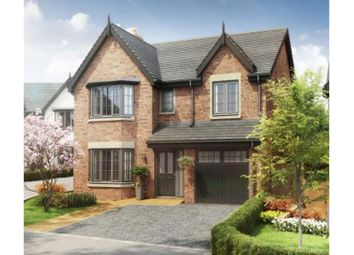 Thumbnail 4 bed detached house for sale in The Village, Newcastle