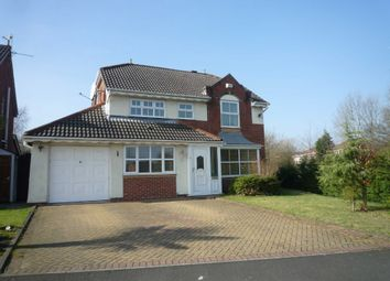 Thumbnail 4 bed detached house to rent in Reedley Drive, Ellenbrook, Worsley, Manchester