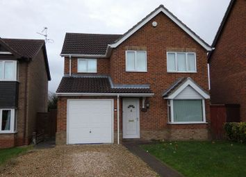 Thumbnail 4 bedroom detached house for sale in Millbeck Drive, Lincoln