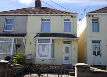 Thumbnail 2 bed semi-detached house to rent in Main Road, Dyffryn Cellwen, Neath.