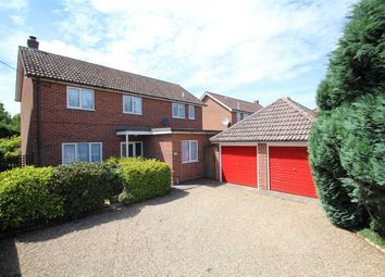 Thumbnail 4 bedroom detached house for sale in Bures Road, Great Cornard, Sudbury