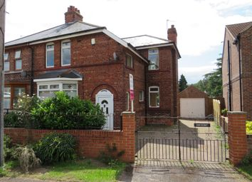 Thumbnail 3 bedroom semi-detached house for sale in Old Blyth Road, Ranby, Retford