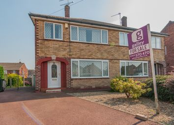 Thumbnail 3 bed semi-detached house for sale in Kirkstall Close, Scawsby, Doncaster