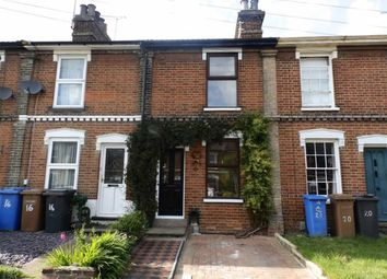 Thumbnail 2 bedroom terraced house for sale in Lancaster Road, Ipswich, Suffolk