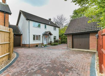 Thumbnail 4 bed link-detached house for sale in Hunters Reach, Bradwell, Milton Keynes